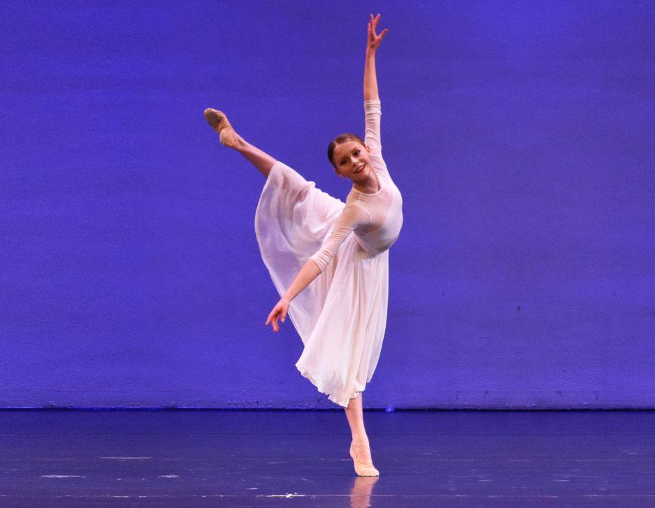 Experienced ballet dancer